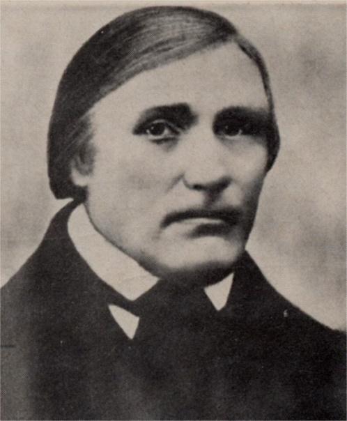 """På fotot av Johan """"Sebbin"""" Rosenback så kan man se att han var en bildad man, respektingivande och bestämd."""