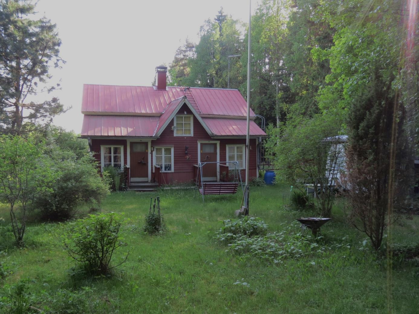 Huset fotograferat från nordväst år 2013.