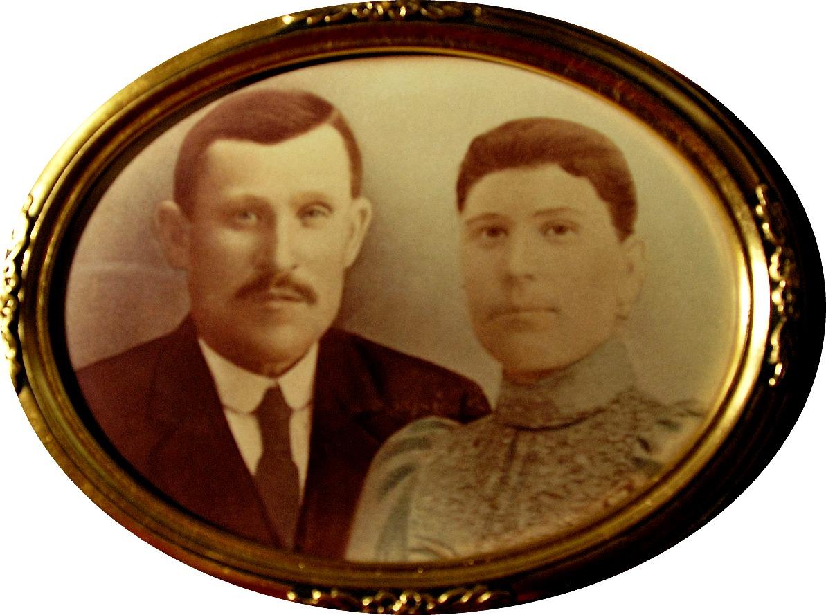 Porträtt av Niklas och Anna Kajsa Nyström.