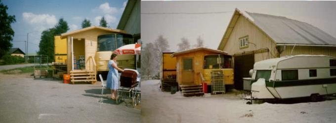 I slutet av juli 1986 öppnade K-Lasse någonting som var tänkt som en tillfällig butik, men som kom att betjäna Dagsmarkborna i nästan 2 års tid, fram till mars 1988.