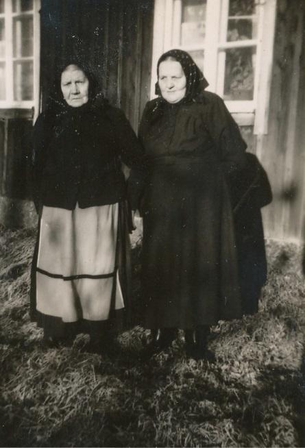 Två stycken Vilhelminor, Blomkvist till vänster och Berglund till höger.