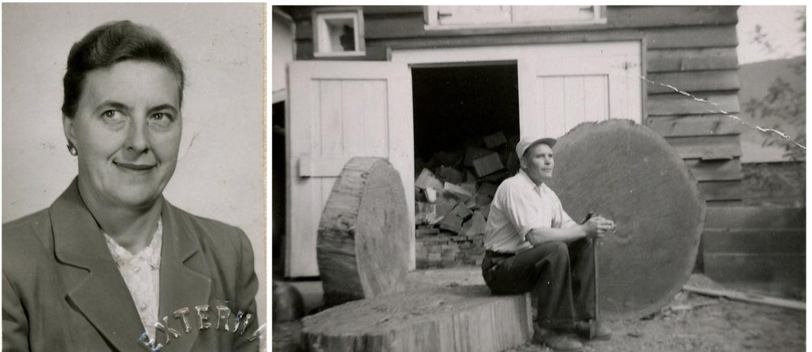 I slutet på 40-talet sålde Ragnar och Verna hela Krook hemmanet åt Ragnars syster Adele och hennes man Selim Eklund. Själva flyttade de till Canada och stannade där till 1958 då de återvände till Dagsmark. De övertog då det nedlagda mejeriet där Stenström några år tidigare hade startat tillverkning av tellblock. I sex års tid fortsatte de med tillverkningen av tellblock och de bodde då i övre våningen på det gamla mejeriet.