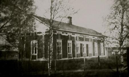Agnäs gamla bondgård fotograferad från norr.