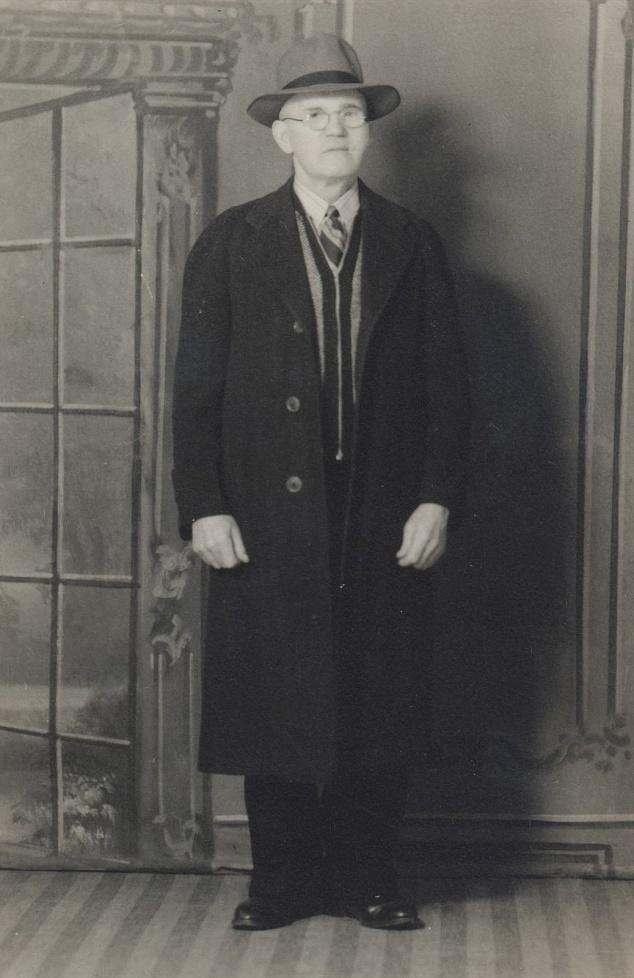På fotot Erland Norén i Canada.