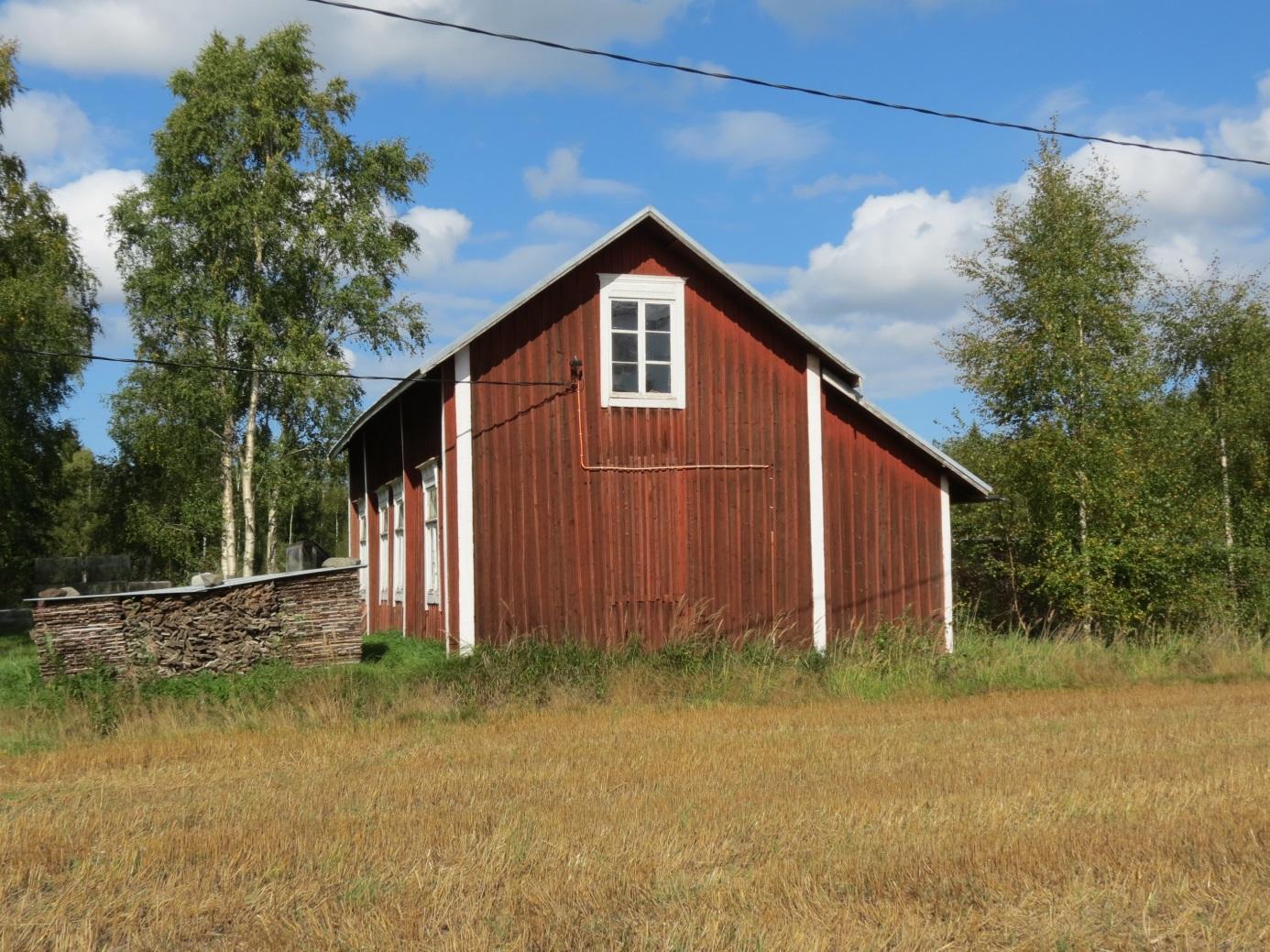 Här samma gård fotograferad från norr år 2013.