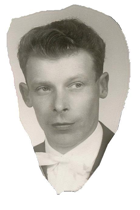 På bilden Boris Långfors år 1960.