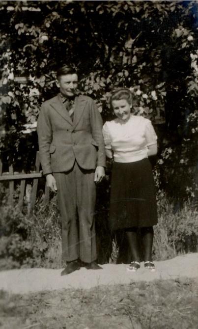 Emil och Mildrid Klåvus.