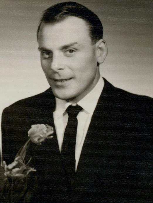 På bilden Torsten Långfors i 30-årsåldern.
