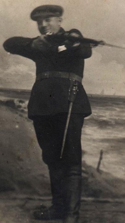 Här på fotot Viktor Björklund från Tjöck som gifte sig med Ida.