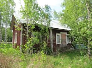 Lillstugan på gården har stått tom sedan Hans Gullmes flyttade till Lappfjärd.