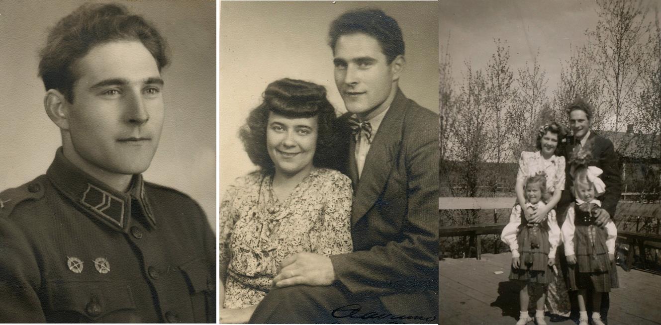 Sigge Boström hemma från Härkmeri gifte sig med Westers dotter Else-May och de bodde i den östra ändan av butiksfastigheten. Sigge var en omtyckt person som också arbetade en tid i butiken då Wester själv befann sig i Amerika under en längre period. Brudnäbbarna på bilden t.h. är Ing-Britt Lindman, senare Cygnel och bosatt i Vasa och den andra är Inger Rosengård, senare Toivonen och bosatt i Kotka.