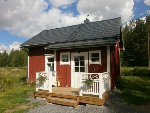 Här några bilder som visar hur vackert Lillsjö-Emils hus blev efter renoveringen.