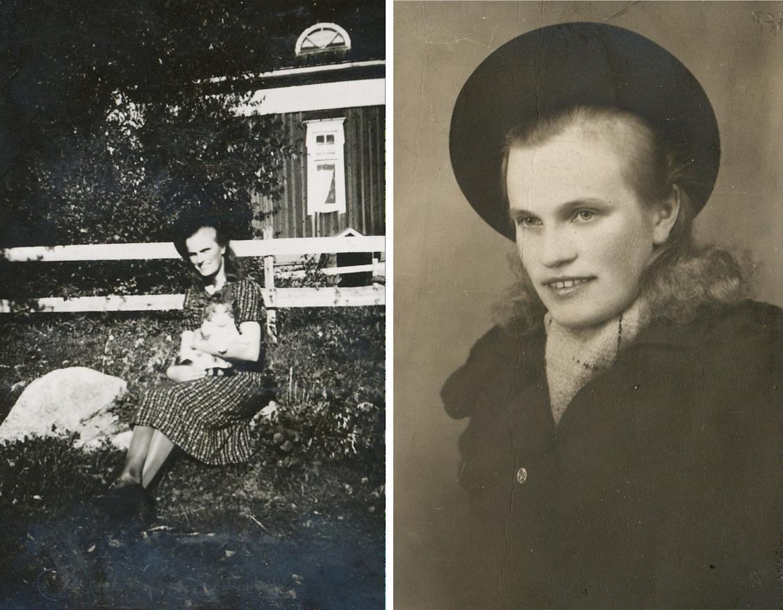 """""""Ådd"""" Beda arbetade i yngre år i Borås som sömmerska vintertid men till sommaren kom hon till Dagsmark för att arbeta inom jordbruket. Sedan bodde hon tillsammans med sin mor Hilma i den stora gården fram till sin död 1985 och Hilma dog sedan år 1988 och efter det har gården stått tom."""
