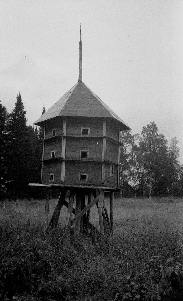 Duvslaget i Dagsmark fotograferat av R. Olin. Traditionsarkivet i Vasa.