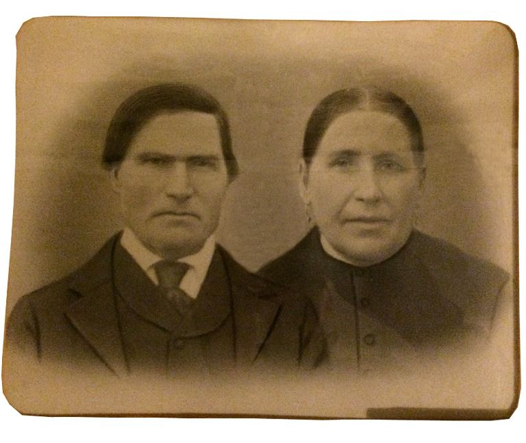 På fotot Josef Andersson Nygård (f. 1844) och hans hustru Henrika (1841-1932).