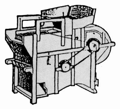 Bild på en sädesrensare.