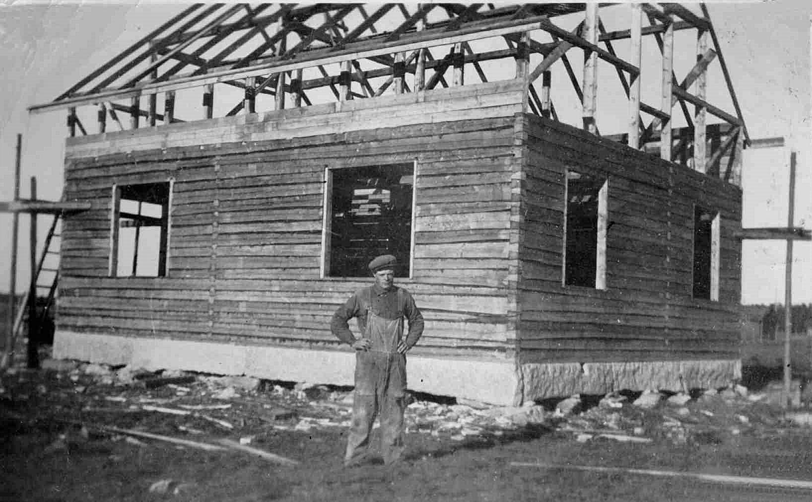 Det var på 1940-talet som Eskil byggde sin gård på Dagsmarkvägen 228.