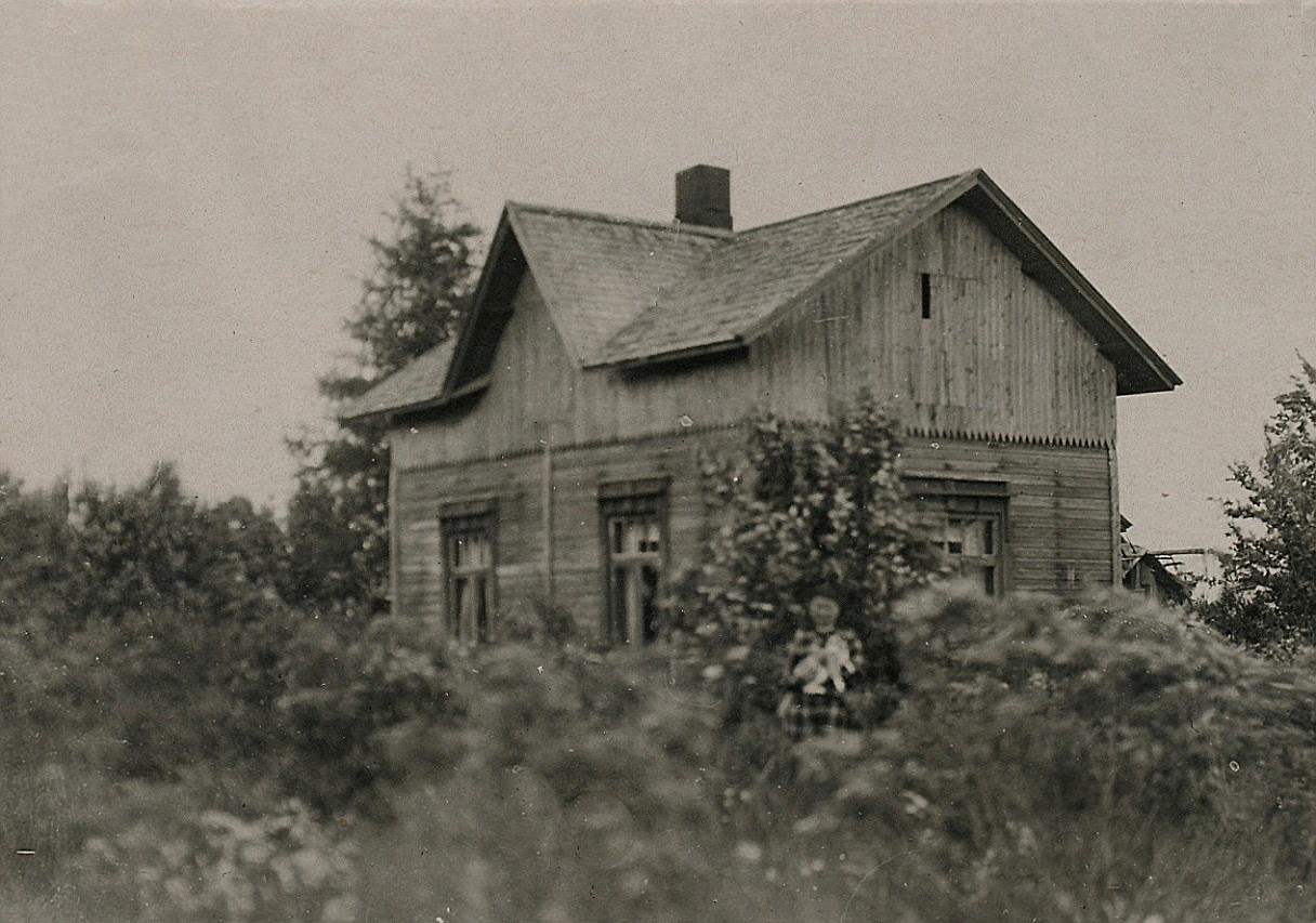 Här på Korsbäckvägen 70 i detta hus bodde Hilda till sin död 1946.