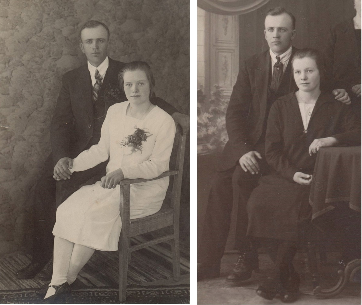 På bilderna Gunnar och Lisbeth Storkull.