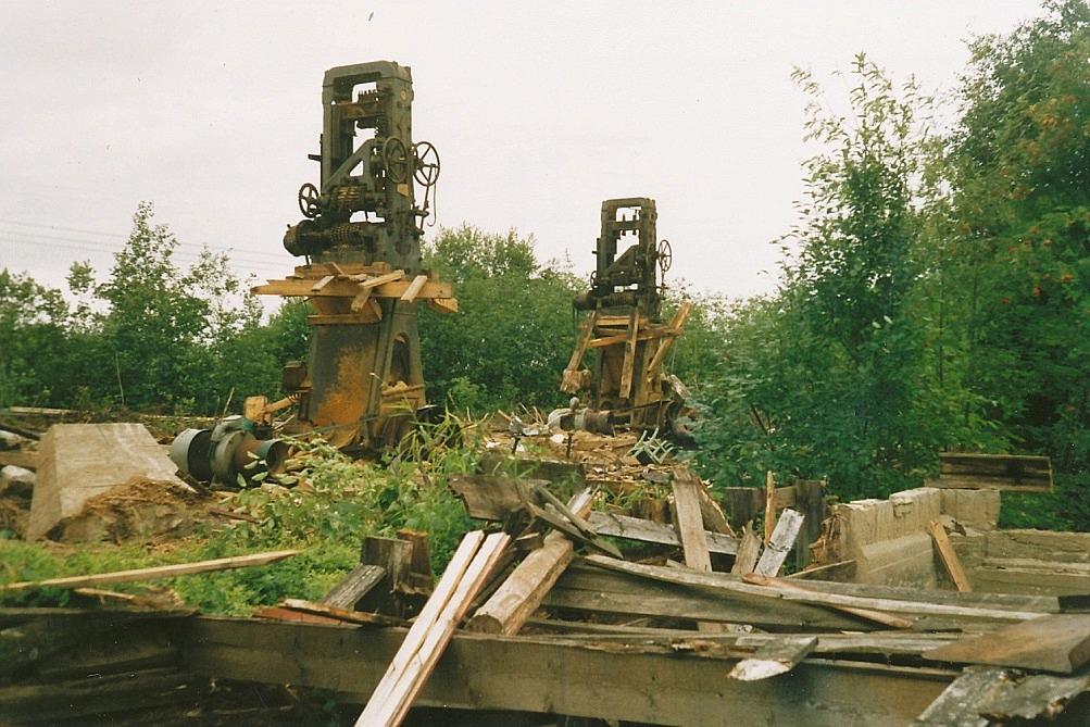 De två sågramarna såldes till en köpare i södra Finland men deras vidare öden är okända.