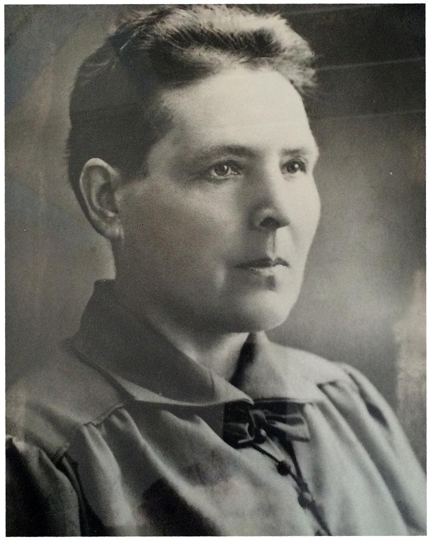 Matilda Ahlskog var lärarinna på folkskolan i Dagsmark under åren 1905-1924.