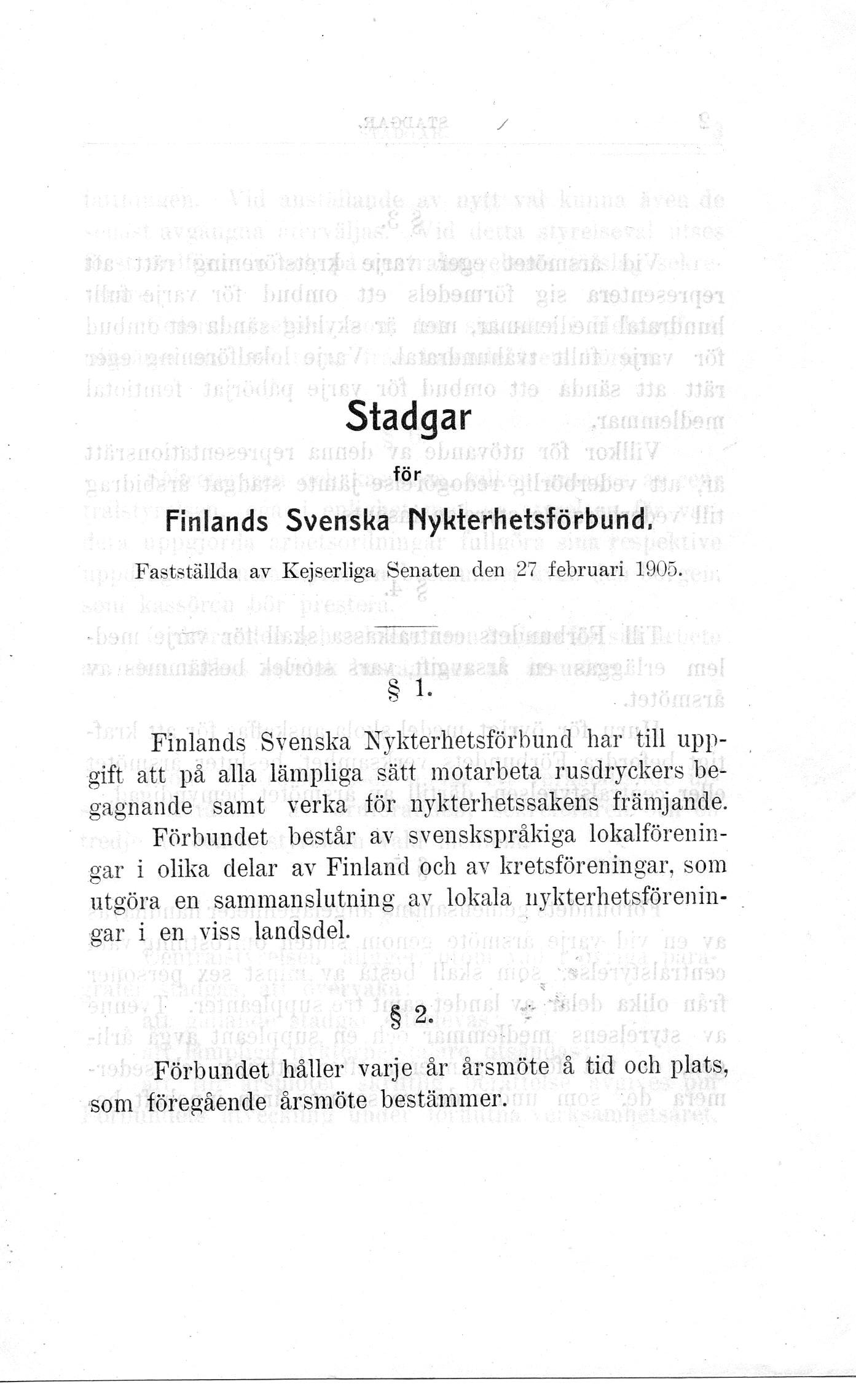Stadgar sid 1