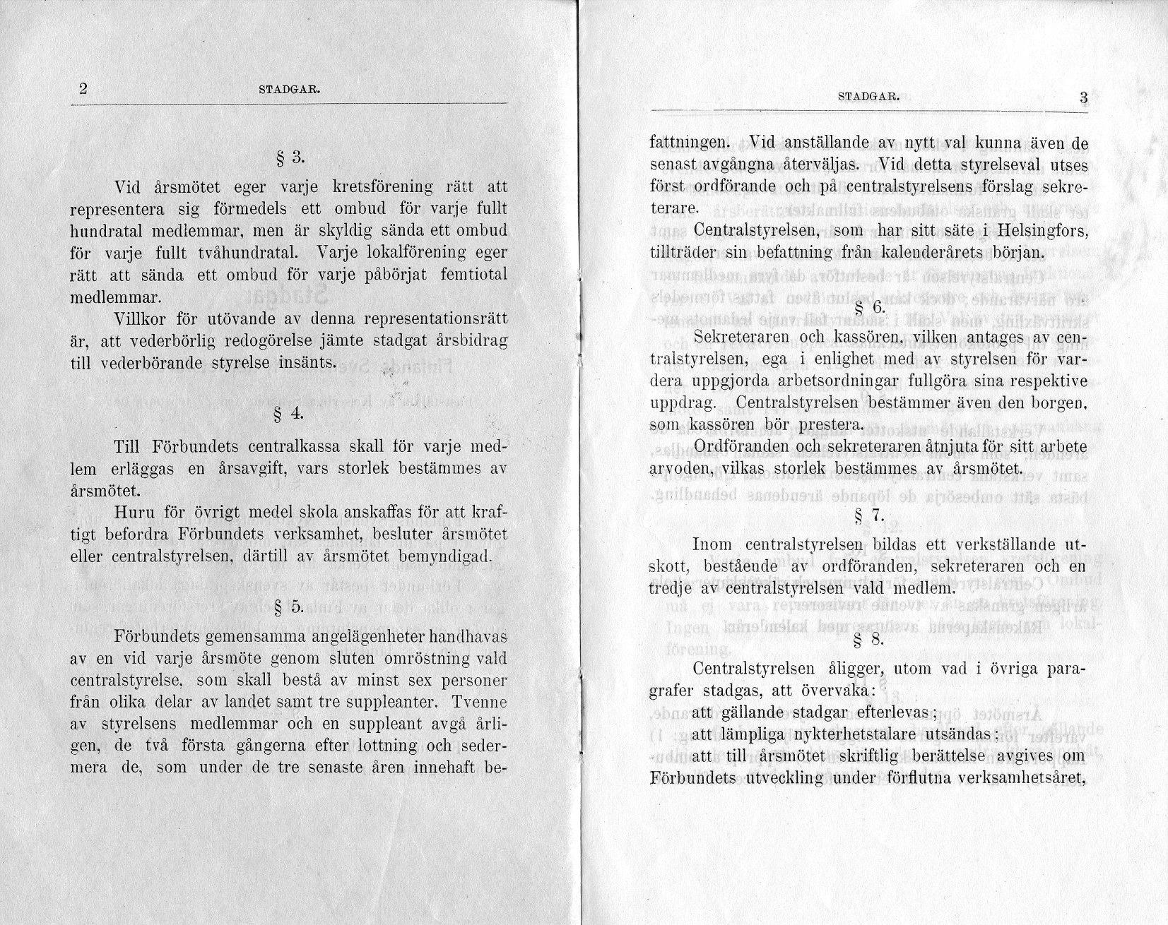 Stadgar sid 2 och 3