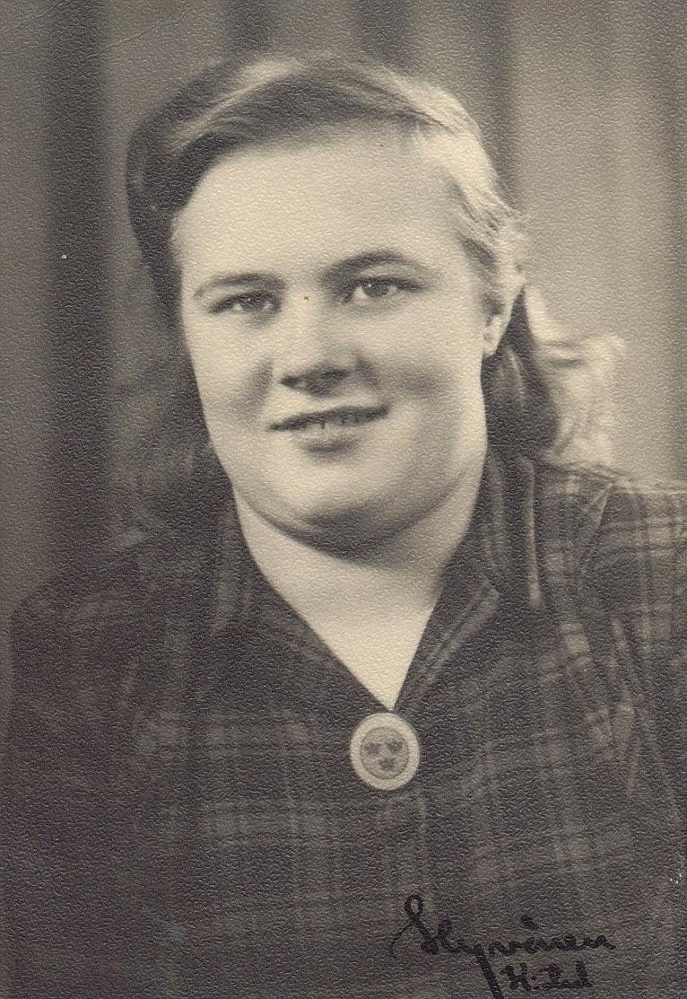 Anna Ånäs, fotograferad av Hyvönen.