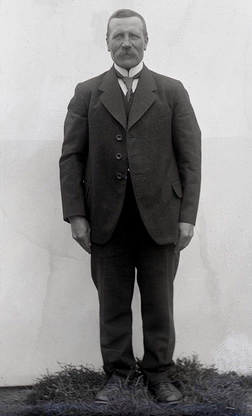 På bilden sågägaren Viktor Storkull (1873-1936) från Dagsmark.