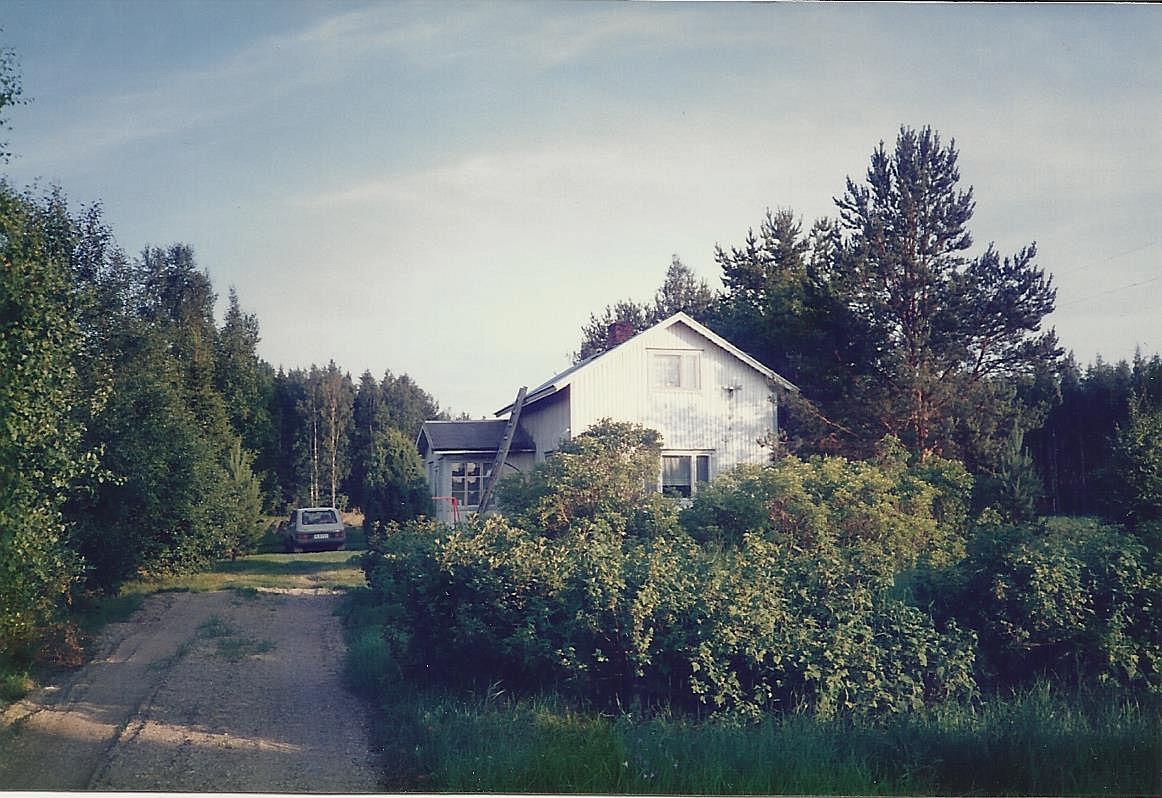 Här Arvid och Alice Lillkulls gård på 1980-talet. Fotot taget av dottern Inga-Lill Sandstöm.