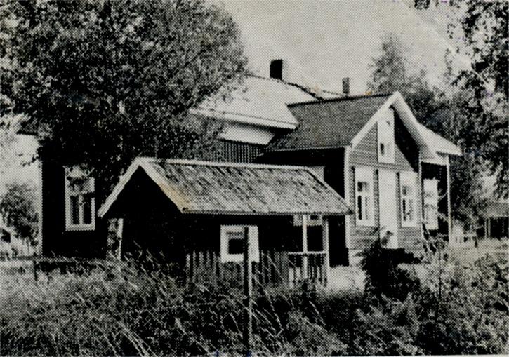 Här Mannfolks gård fotpgraferad på 60-talet.