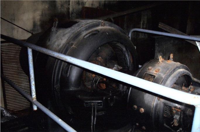 Asea-generatorn var enligt Pärus-Fors direktören Rurik Nylund outslitlig, en riktig evighetsmaskin.