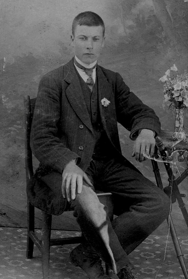 """""""Eerkas-Emel"""" som på riktigt hette Emil Nyberg."""