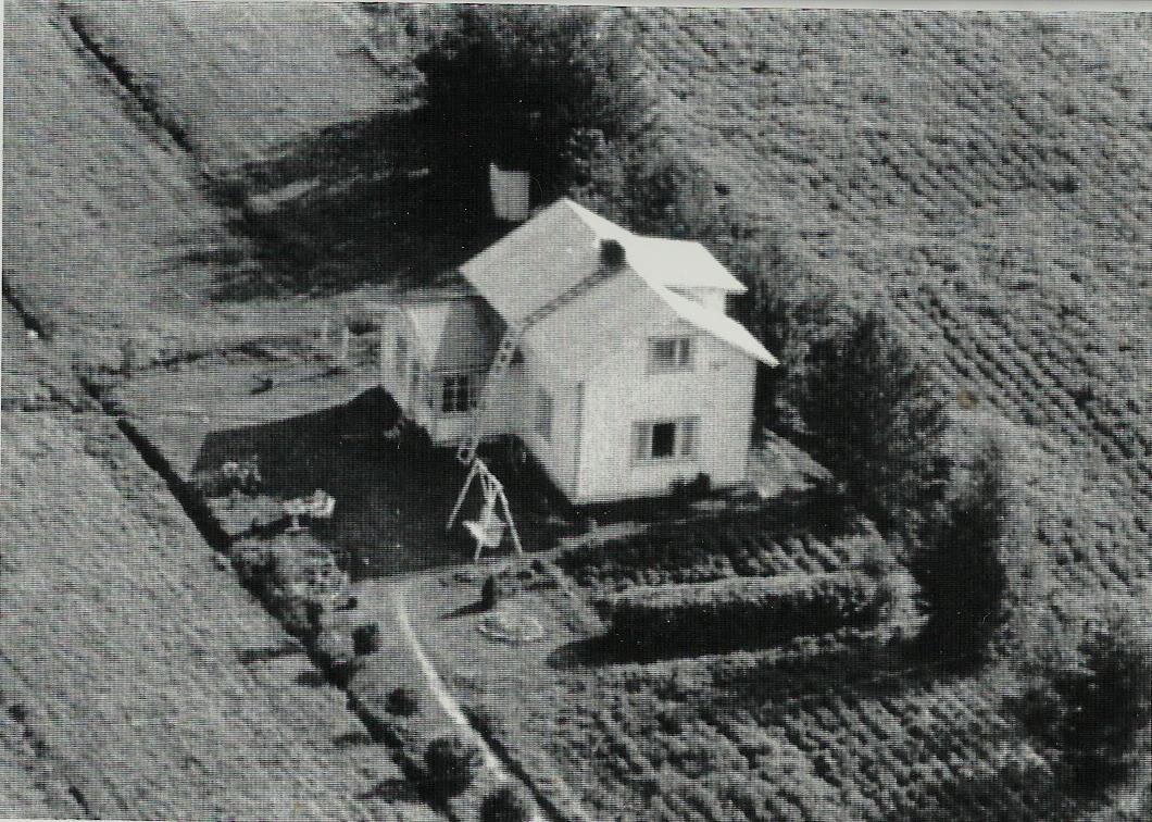 Flygfoto från 1960-talet.
