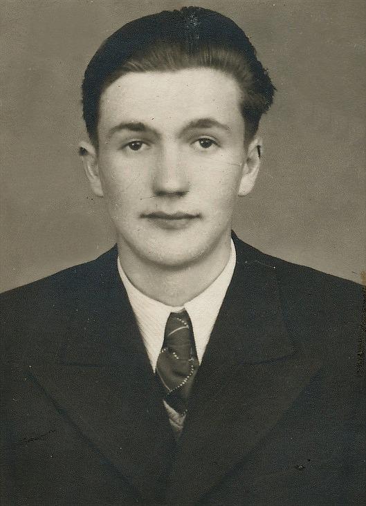 Här Egil Mannfolk i unga år.