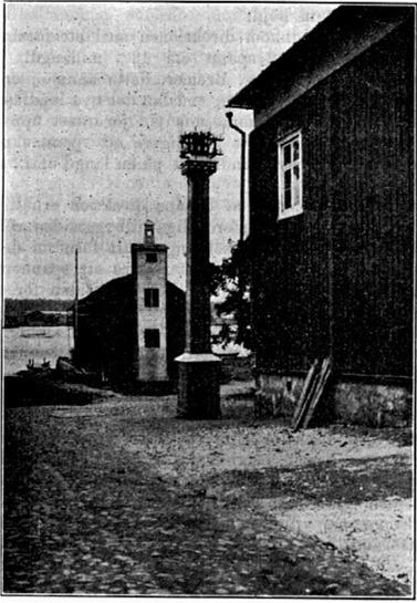 2 tryckpunkter byggdes i staden för att styra belysningen.