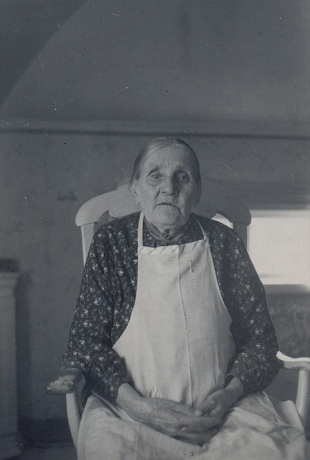 Maria Hägg, som var mor till Ulla-Miili.