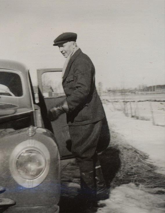 Sågägaren Emil Nyholm.