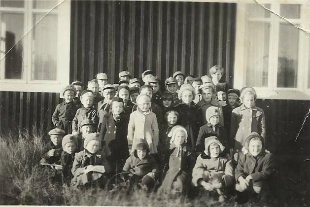 Så här många barn var det i söndagsskolan i slutet på 50-talet.