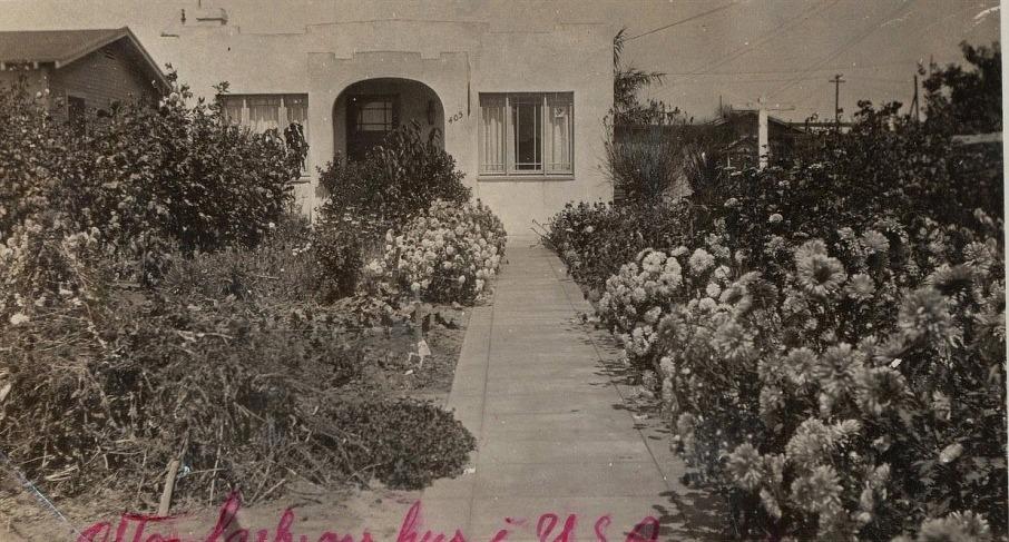 Så här såg huset ut där Otto Lillkull bodde i Amerika. Det var ju Otto som efterlystes av sina släktingar i Finland eftersom han inte hade hört av sig på många år och han blev därför dödförklarad år 1942.