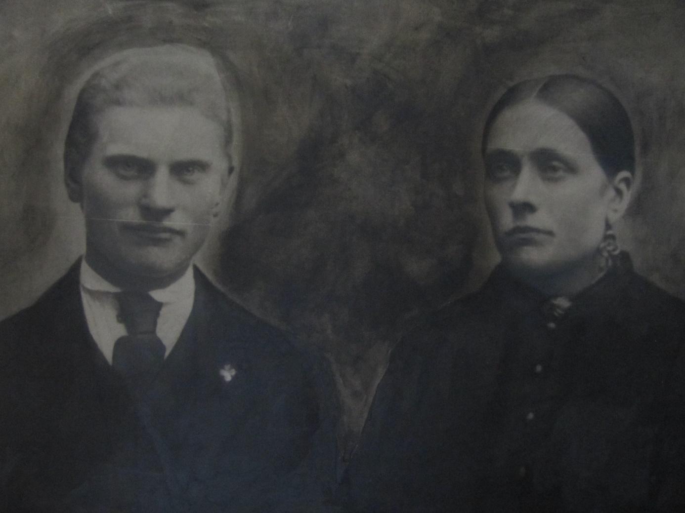På fotot Johan och Ida Lillkull.