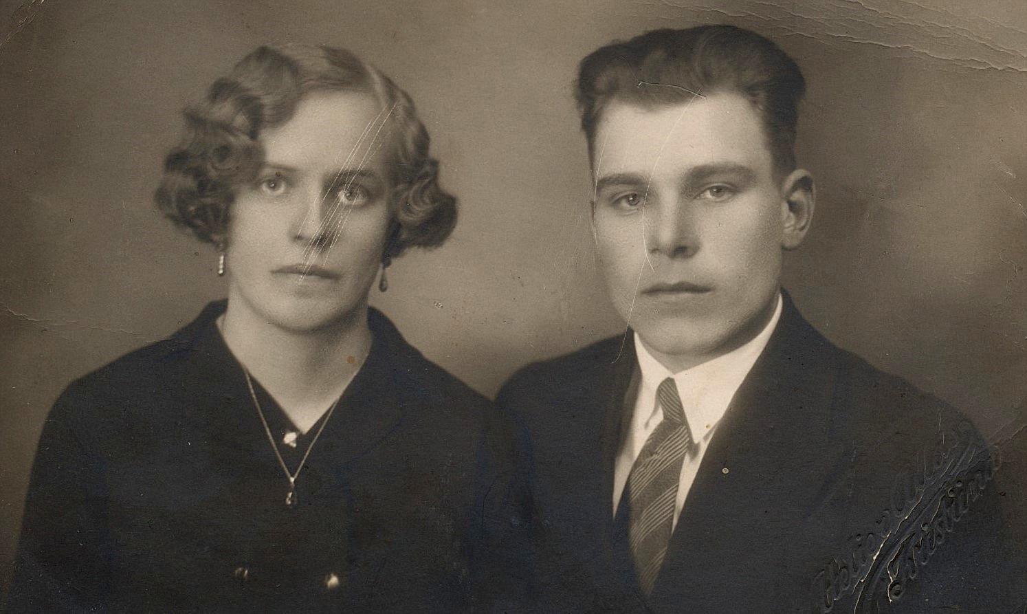 Här Julia Lillkull som gifte sig med Bertel Långfors från Klemetsändan.