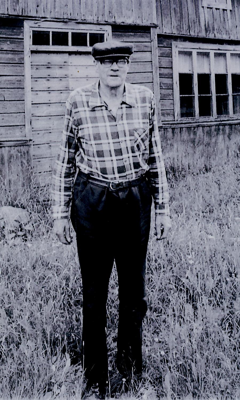 "På fotot ""Storås-Selim"". Foto: Olof Granroth, Selims systerson."