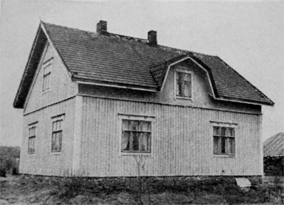 Detta foto av Hembergs gård är från början av 1960-talet.