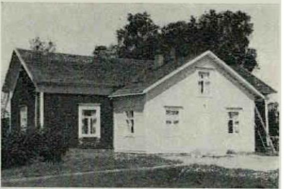 Grönlunds gård på 1960-talet.