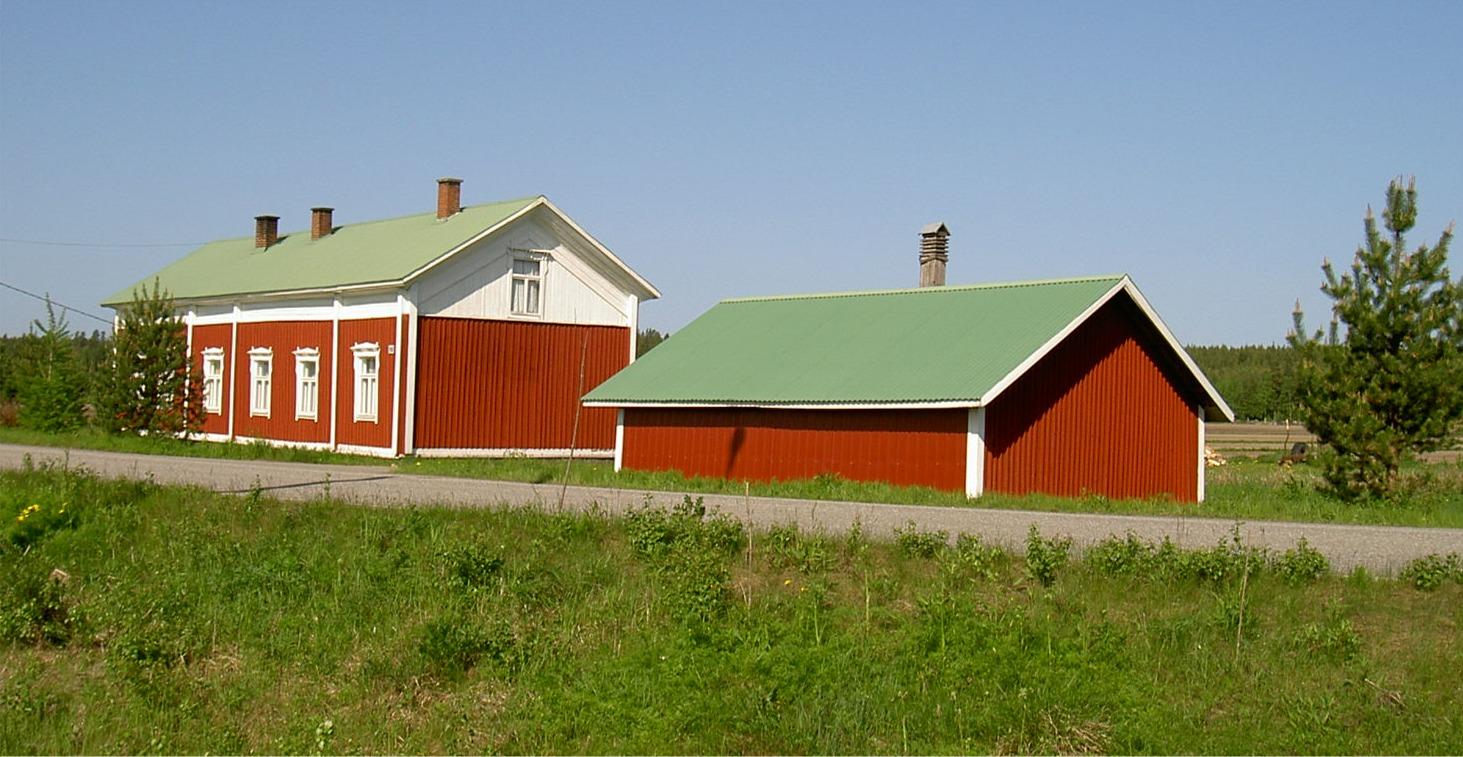 Här Forslin gård som ligger riktigt nära Åbackvägen. Fotot från 2003.