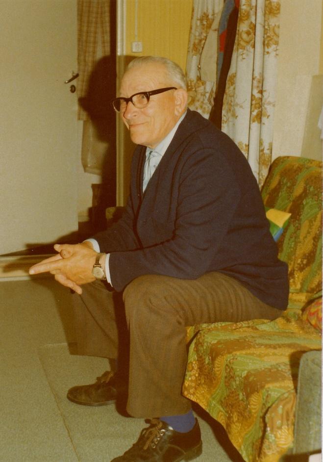 Här Arthur Lövholm.