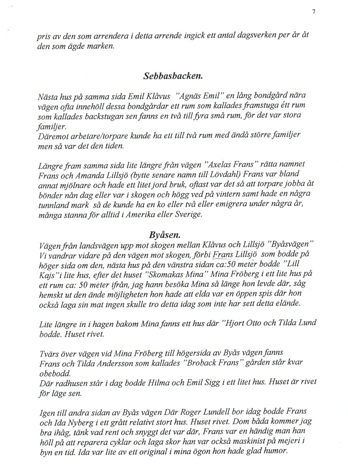 sid 7