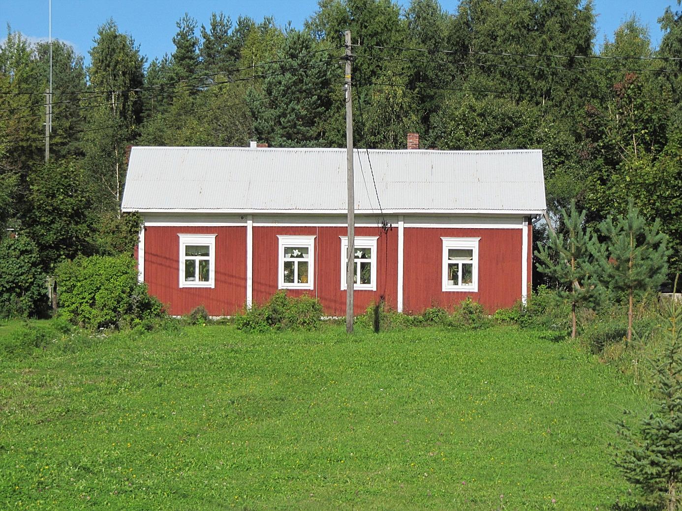Gården fotograferad från sydost.