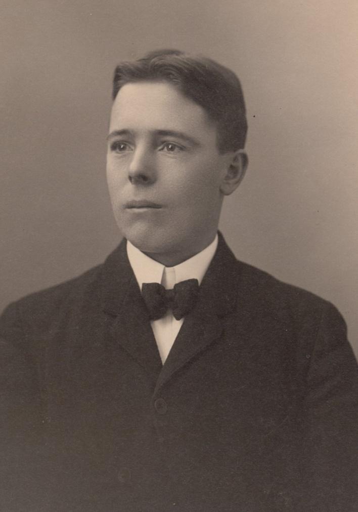 På bilden den unge Erik Anders Englund.